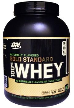 Optimum Nutrition - 100 % Natural Whey Gold Standart Gluten Free (2179гр) - фото 8953