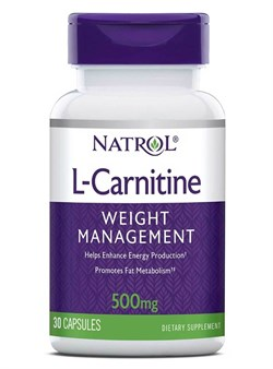 Natrol - L-Carnitine 500mg (30капс) - фото 8956