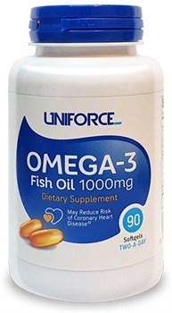 Uniforce - Omega 3 1000mg (90гел.капс) - фото 9021