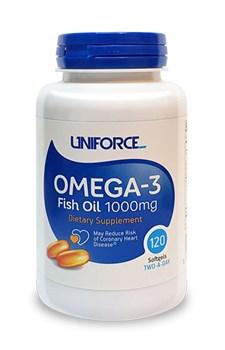 Uniforce - Omega 3 1000mg (120гел.капс) - фото 9022