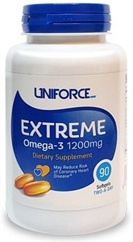 Uniforce - Extreme Omega 3 1200mg (90гел.капс) - фото 9029