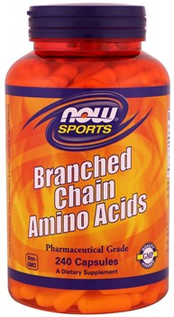 NOW - Branch-Chain Amino (240капс) - фото 9042