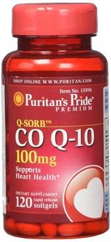 Puritan's Pride CO Q-10 100mg (60капс) - фото 9063