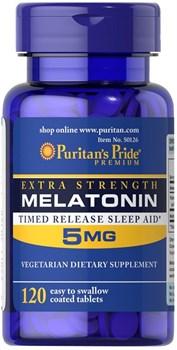 Puritan's Pride Melatonin 5mg (120табл) - фото 9066