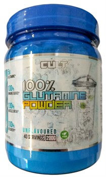 Cult - 100% Glutamine powder (200гр) - фото 9086