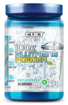Cult - 100% Glutamine powder (400гр) - фото 9087