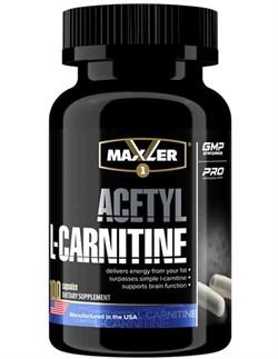 Maxler Acetyl L-Carnitine (100капс) - фото 9109
