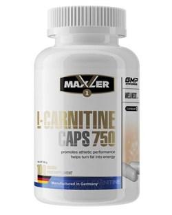 Maxler L-Carnitine caps 750 (100капс) - фото 9119