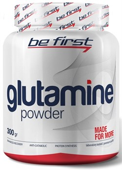 Be First - Glutamine Powder (300гр) - фото 9161