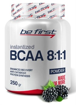 Be First - BCAA 8:1:1 INSTANTIZED Powder (250гр) - фото 9166