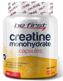 Be First - Creatine Monohydrate Capsules (350капс) - фото 9175