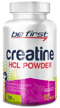 Be First - Creatine HCL Powder (120гр) - фото 9176