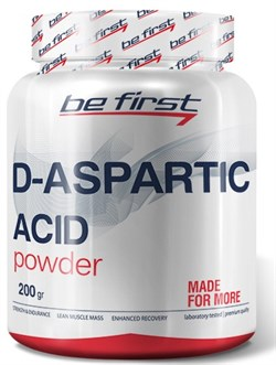 Be First - D-Aspartic Acid Powder (200гр) - фото 9179