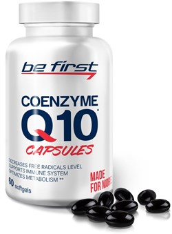 Be First - Coenzyme Q10 60mg (60гел.капс) - фото 9201