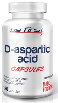 Be First - D-Aspartic Acid capsules (120капс) - фото 9211
