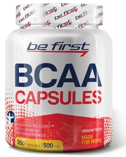 Be First - BCAA capsules (350капс) - фото 9213