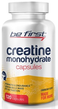 Be First - Creatine Monohydrate Capsules (120капс) - фото 9220