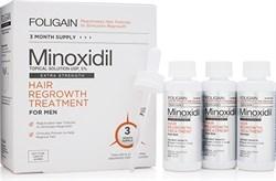 FOLIGAIN Men Minoxidil 5% Hair Regrowth Treatment (3х60мл) - фото 9238
