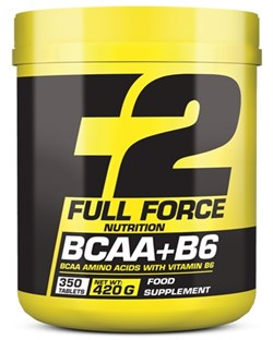 F2 Full Force Nutrition BCAA+B6 (350таб) - фото 9264