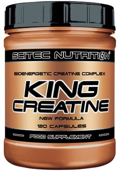 Scitec Nutrition - King Creatine (120капс) - фото 9272