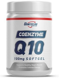 GeneticLab Nutrition - Coenzyme Q10 100mg (60гел.капс) - фото 9287