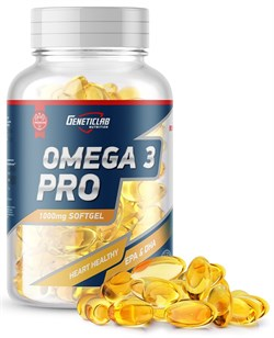 GeneticLab Nutrition - Omega 3 Pro 1000mg (90гел.капс) - фото 9295