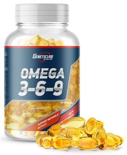 GeneticLab Nutrition - Omega 3-6-9 (90гел.капс) - фото 9296