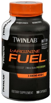 Twinlab L-Arginine Fuel (90капс) - фото 9339