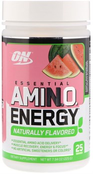 Optimum Nutrition Amino Energy Naturally Flavored (225гр) - фото 9443