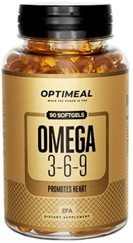 OptiMeal Omega 3-6-9 (90капс) - фото 9451