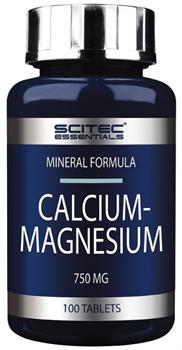 Scitec Nutrition Calcium Magnesium (100таб) - фото 9470