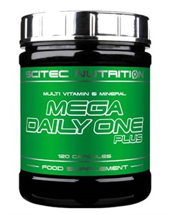 Scitec Nutrition - Mega Daily One Plus (120капс) - фото 9477