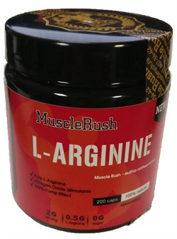 Muscle Rush L-Arginine (200капс) - фото 9491