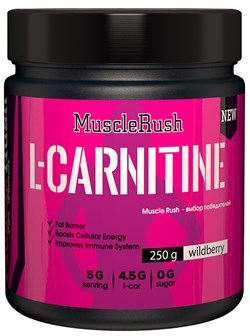 Muscle Rush L-Carnitine for Women (250гр) - фото 9494