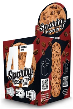 Sporty Protein Печенье (6x65гр) - фото 9505