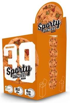 Sporty Fitness Печенье (6x60гр) - фото 9506