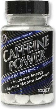Hi-Tech Pharmaceuticals - Caffeine Power (100таб) - фото 9542