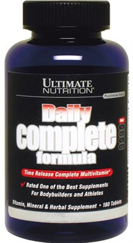 Ultimate Nutrition Daily Complete Formula (180таб) - фото 9558