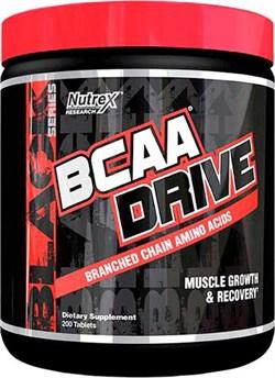 Nutrex BCAA Drive Black (200таб) - фото 9565