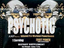 Insane Labz Psychotic Gold (1 порция) пробник - фото 9585