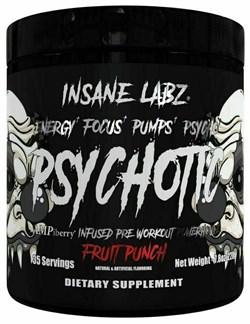 Insane Labz Psychotic Black (220гр) - фото 9592