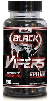 Anabolic Science Lab - Black Vipers (100капс) - фото 9593