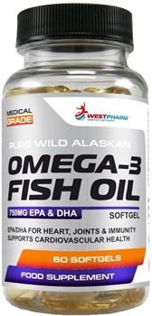 WESTPHARM - Omega 3 Fish Oil (60капс) - фото 9616
