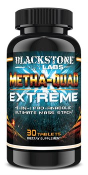 Blackstone Labs - Metha-Quad Extreme (30капс) - фото 9640