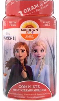Sundown Naturals Kids Complete Multivitamin Gummies (60жев.таб) - фото 9712