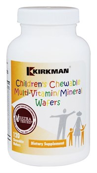 Kirkman Childrens Chewable Multi-Vitamin Mineral (120жев.таб) - фото 9715