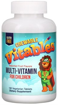 Vitables Chewable Vitables Multi Vitamin & Mineral for Children (180таб) - фото 9720