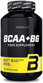 BioTech USA BCAA+B6 (200таб) - фото 9732