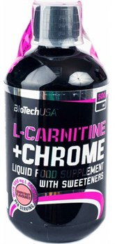 BioTech USA Liquid L-Carnitine + Chrome (500мл) - фото 9741