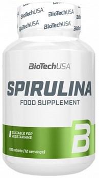 BioTech USA Spirulina (100таб) - фото 9742